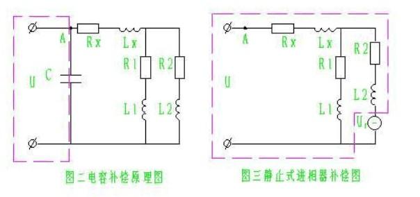 电容补偿柜电容并联在电机
